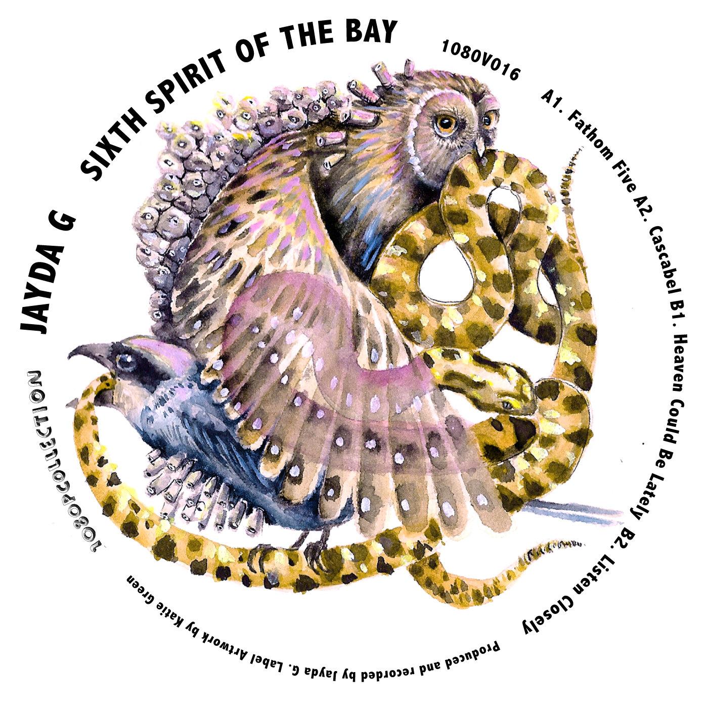 "Jayda G/SIXTH SPIRIT OF THE BAY EP 12"""