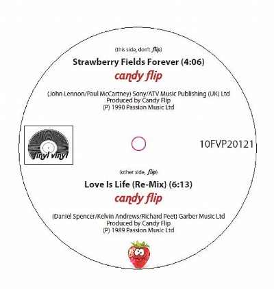 Candy Flip/STRAWBERRY FIELDS FOREVER 10""