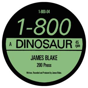 """James Blake/200 PRESS 12"""" + 7"""""""