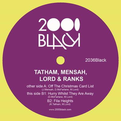 "Tatham, Mensah, Lord & Ranks/XMAS 12"""