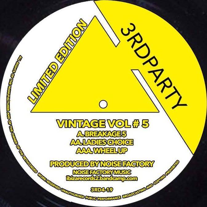 """Noise Factory/VINTAGE VOL #5 12"""""""