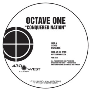 """Octave One/CONQUERED NATION 12"""""""