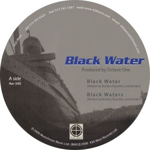"""Octave One/BLACK WATER 12"""""""