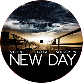 """50 Cent/NEW DAY REMIX 12"""""""