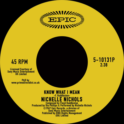 Nichelle Nichols/KNOW WHAT I MEAN 7""