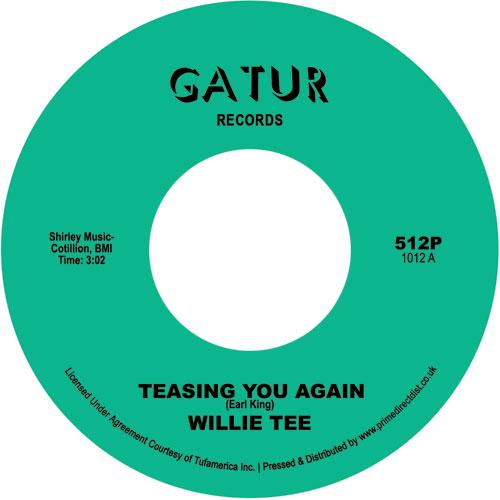 "Willie Tee/TEASING YOU AGAIN 7"""