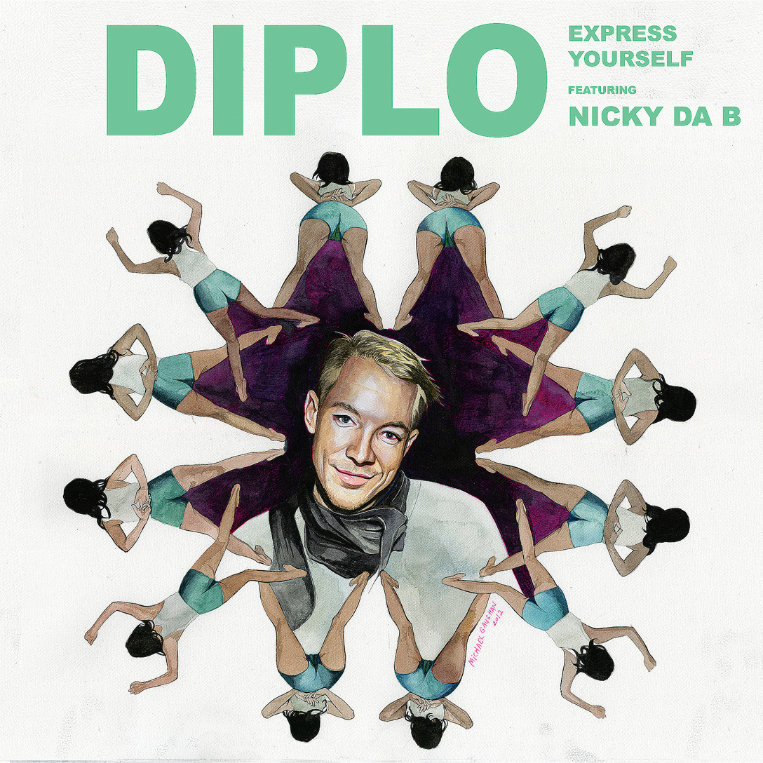 """Diplo/EXPRESS YOURSELF  7"""""""