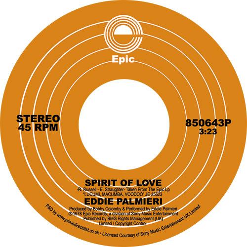 "Eddie Palmieri/SPIRIT OF LOVE 7"""
