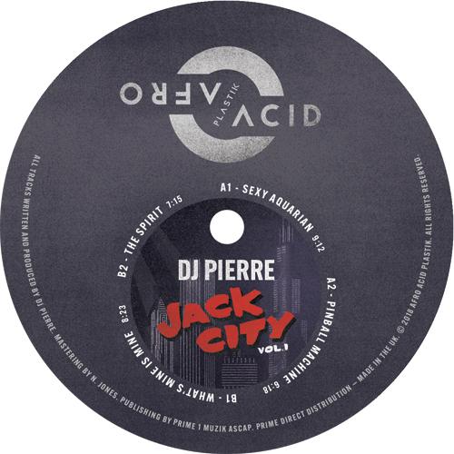 """DJ Pierre/JACK CITY VOL 1 12"""""""