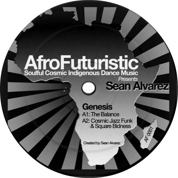 "Sean Alvarez/GENESIS LIMITED 1-SIDER 12"""