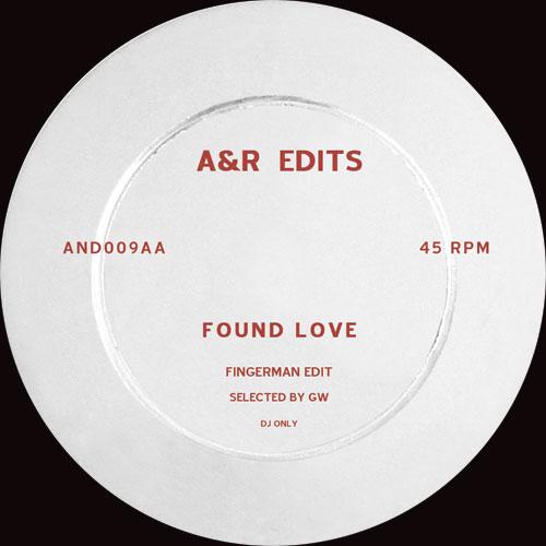 "A&R Edits/VOLUME 9-FINGERMAN 12"""