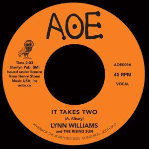 "Lynn Williams/IT TAKES TWO 7"""