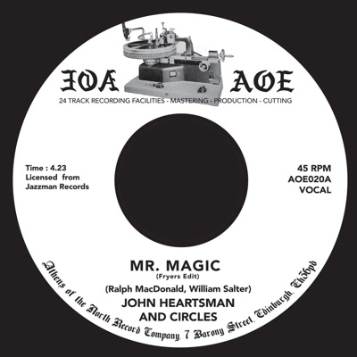 John Heartsman/MR. MAGIC -FRYERS EDIT 7""