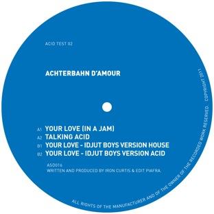 "Achterbahn D'Amour/YOUR LOVE EP 12"""