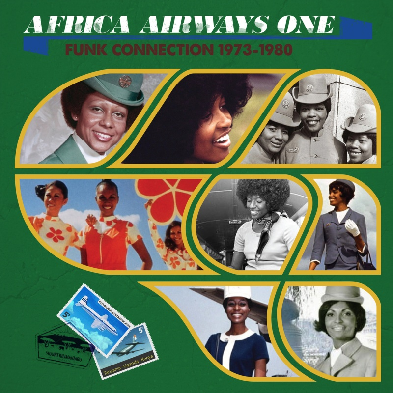Various/AFRICA AIRWAYS ONE (1973-80) LP