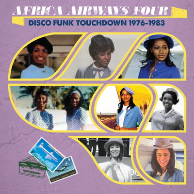 Various/AFRICA AIRWAYS FOUR (1976-83) LP