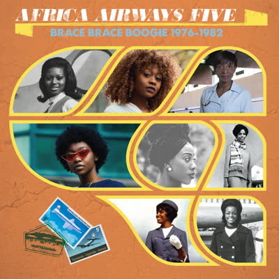Various/AFRICA AIRWAYS FIVE (1976-82) LP