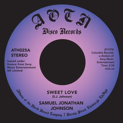 "Samuel Jonathan Johnson/SWEET LOVE 7"""