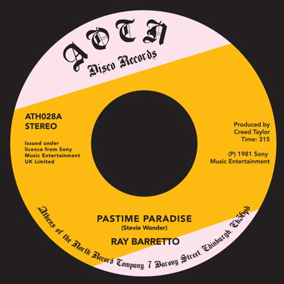 Ray Barretto/PASTIME PARADISE 7""