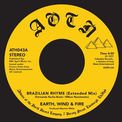 """Earth Wind & Fire/BRAZILIAN RHYME 7"""""""