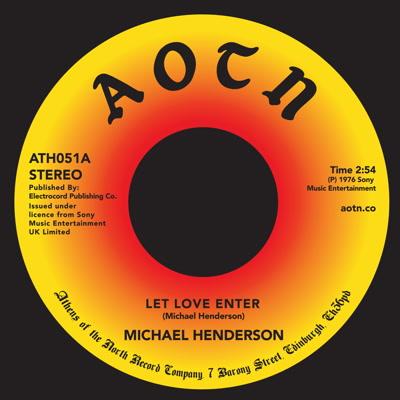 "Michael Henderson/LET LOVE ENTER 7"""