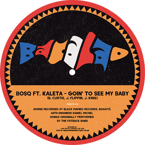 Bosq ft. Kaleta/GOING TO SEE MY BABY 12""