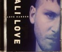 Ali Love/LOVE HARDER  CD