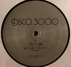 Disco 3000/HIT & RUN LOVER EDIT 12""
