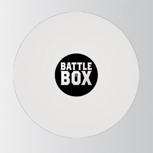 "Robert Del Naja/BATTLE BOX 001 12"""