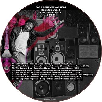 """Benny Benassi/REMIXES VOL. 1 EP 12"""""""