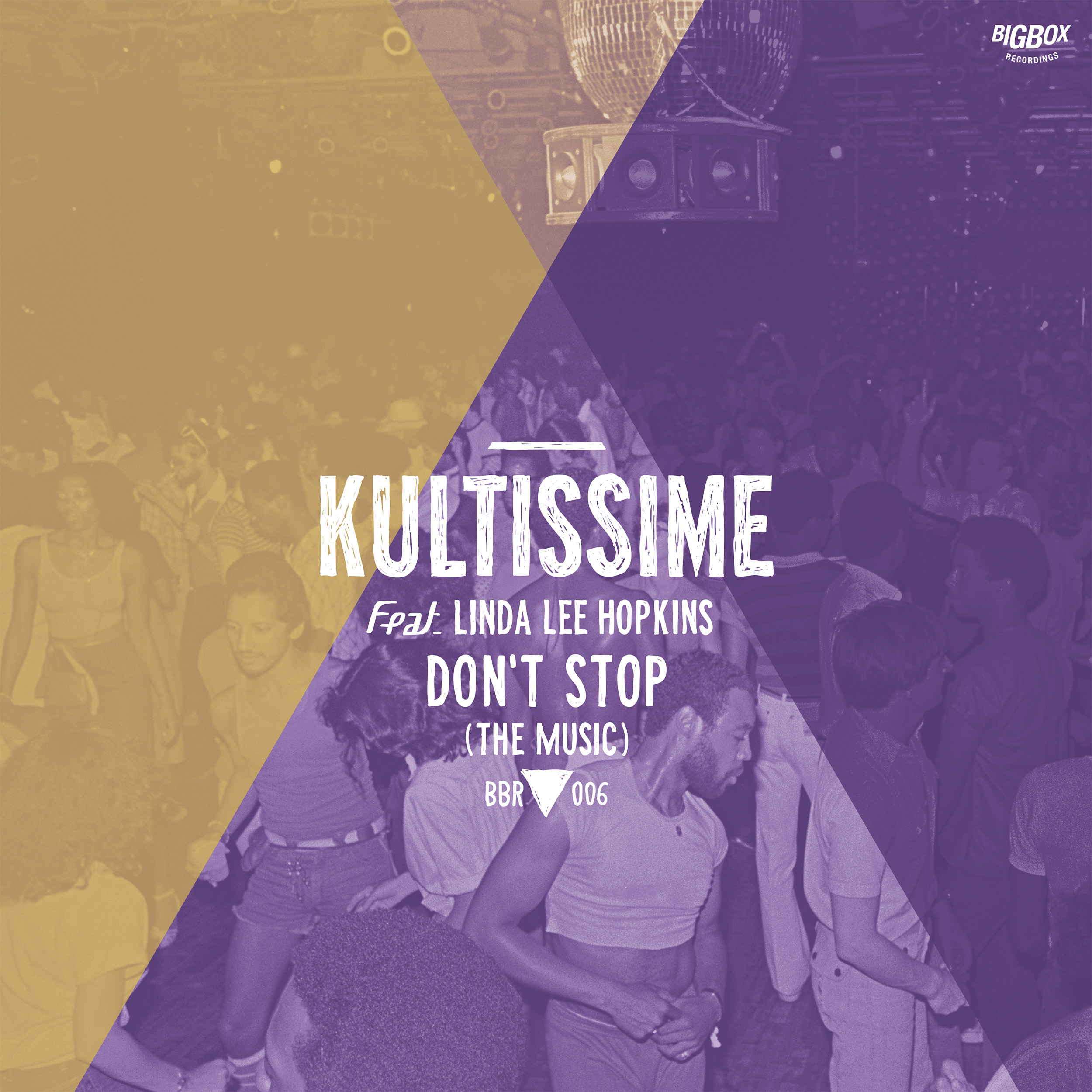 Kultissime/DON'T STOP THE MUSIC 12""