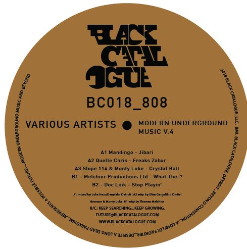 """Various/MODERN UNDERGROUND MUSIC #4 12"""""""