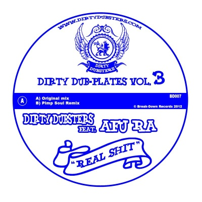 Dirty Dubsters/REAL SH*T (PLIMSOUL) 7""