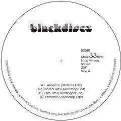 """Lovefingers & Nitedog/BLACK DISCO 10 12"""""""