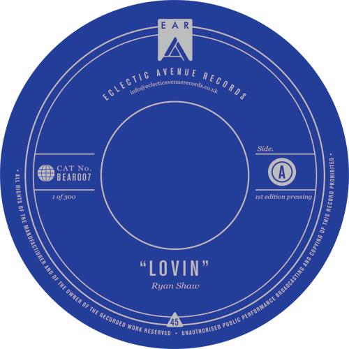 "Ryan Shaw/LOVIN 12"""