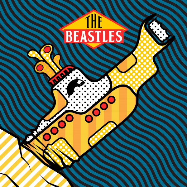 Beastie Boys vs The Beatles/BEASTLES DLP