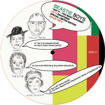 "Beastie Boys/SAY IT REMIX 12"""