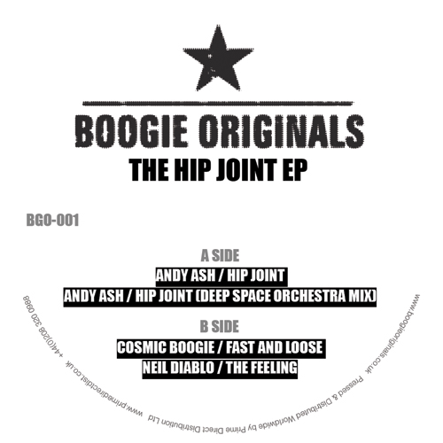 """Boogie Originals/THE HIP JOINT EP 12"""""""