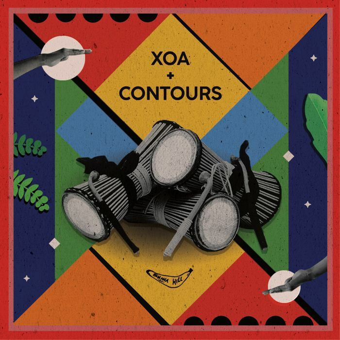 Xoa & Contours/TOO MUCH TALKING 12""