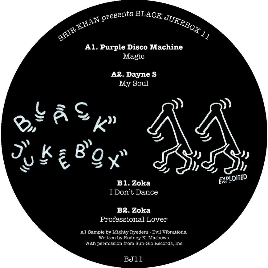 """Various/BLACK JUKEBOX 11 12"""""""