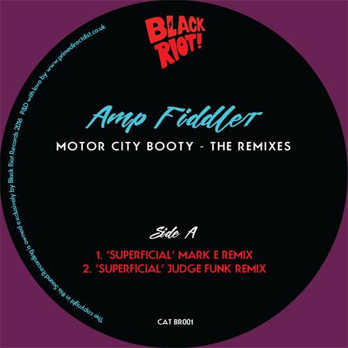 """Amp Fiddler/MOTOR CITY BOOTY - RMX'S 12"""""""