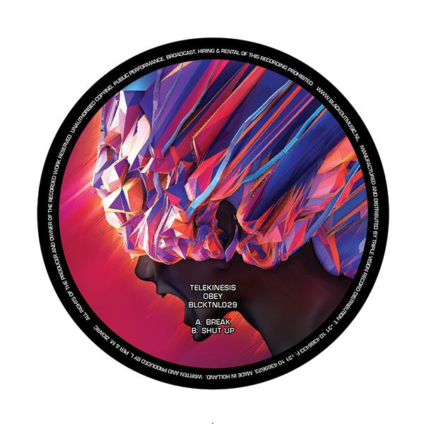 """Telekinesis/OBEY EP 12"""""""
