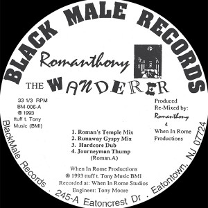 Romanthony/THE WANDERER (1993) 12""