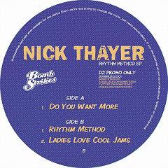"Nick Thayer/RHYTHM METHOD EP  12"""