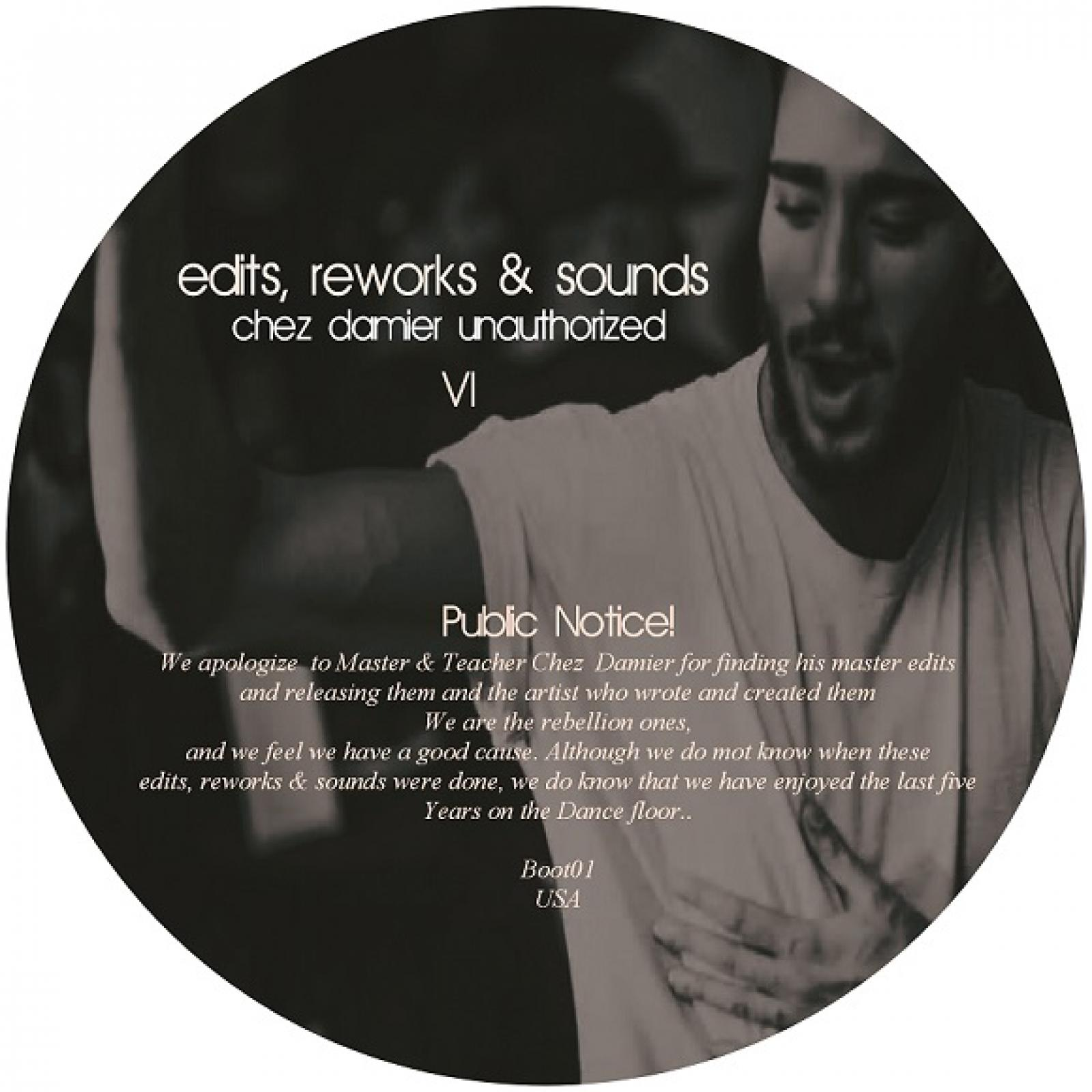 Chez Damier/EDITS, REWORKS & SOUNDS 10""