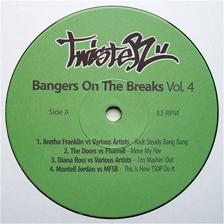 """DJ Twister/BANGERS ON THE BREAKS #4 12"""""""