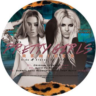 """Britney Spears & Iggy Azalea/PRETTY 12"""""""