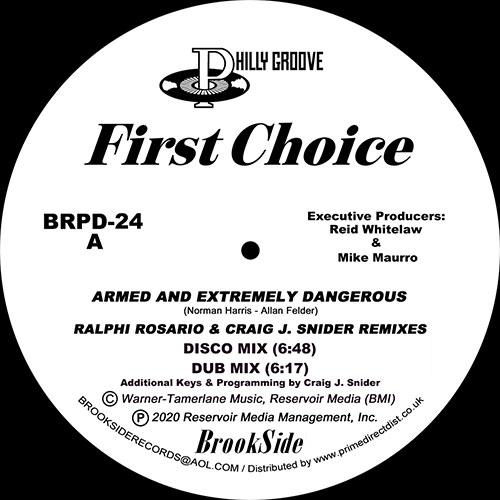 "First Choice/ARMED.. (R ROSARIO RMX) 12"""