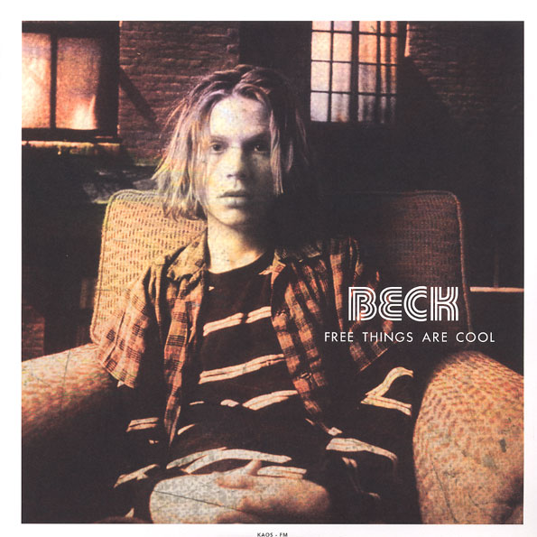 Beck/FREE THINGS ARE COOL (COLOR) LP