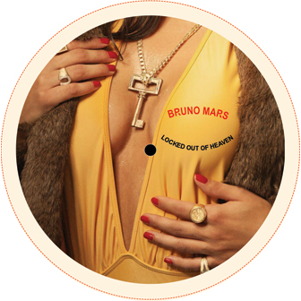 """Bruno Mars/LOCKED OUT OF HEAVEN RMX 12"""""""